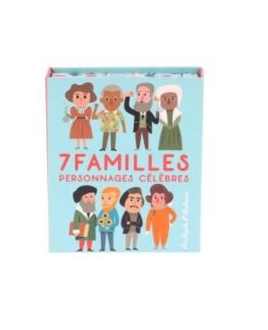 JEU DE 7 FAMILLES PERSONNAGES CÉLÈBRES PAR INGELA P.A Vilac
