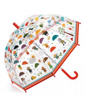 Parapluie Sous la pluie design Blanca Gomez Djeco