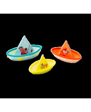 3 petits bateaux Lilliputiens.