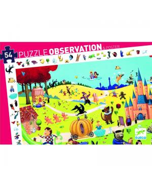 Puzzle d'observation Contes - 54 pièces Djeco