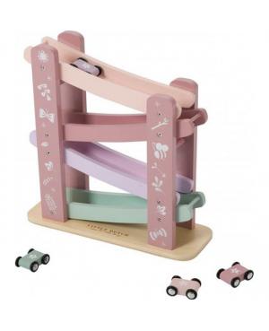 Circuit en bois - pink