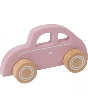 Voiture en bois - pink