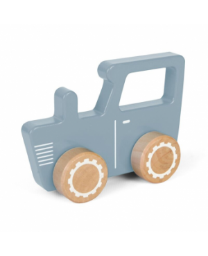 Tracteur en bois - mint Little Dutch