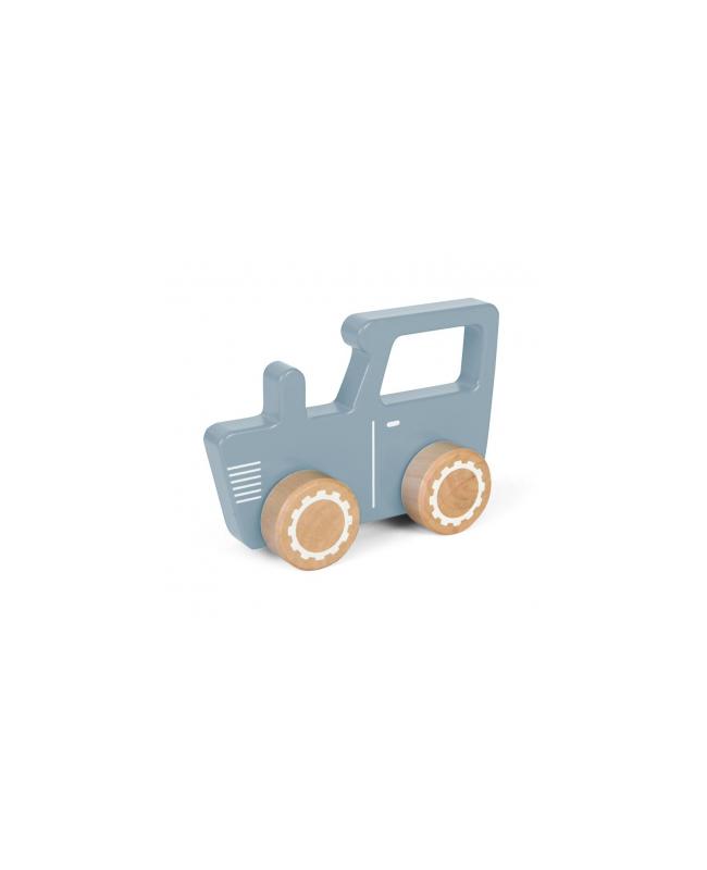 Tracteur en bois - mint Little Dutch