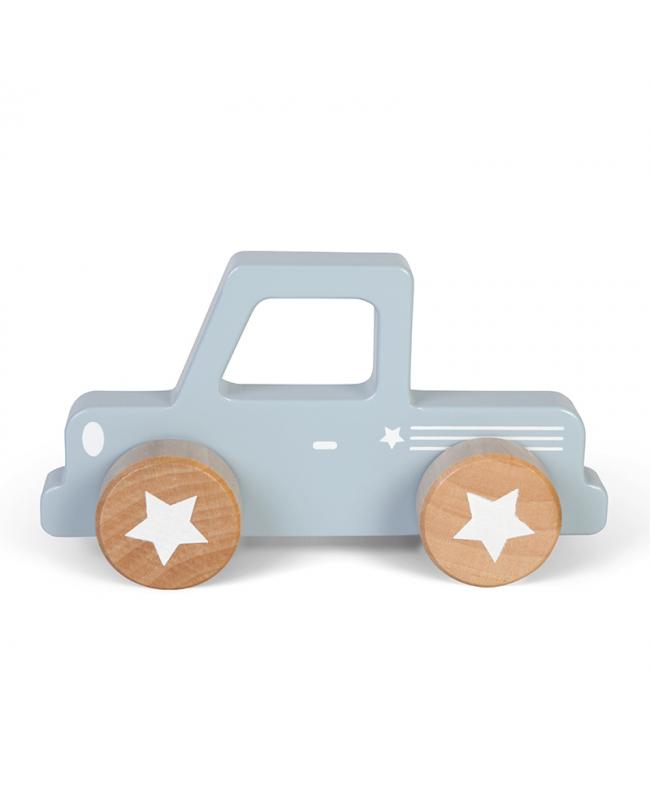 Pickup en bois - blue Little Dutch