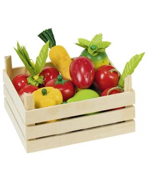 Fruits et légumes dans une...