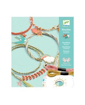 Bracelets Kumihimo Céleste Djeco