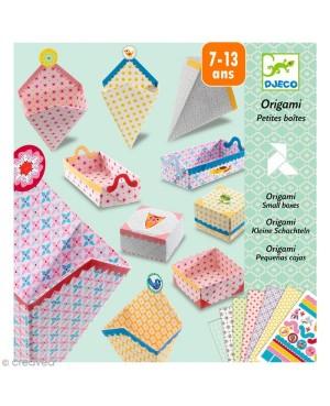 Origami Petites boîtes...