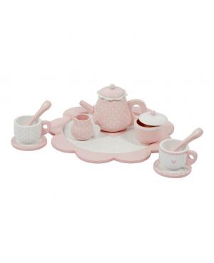 Service à thé en bois - pink Little Dutch
