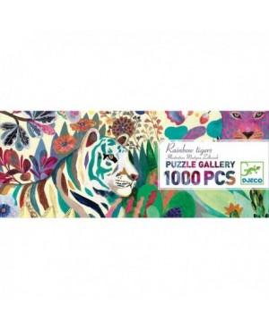 Puzzle Rainbow Tigers  - 1000 pièces Djeco