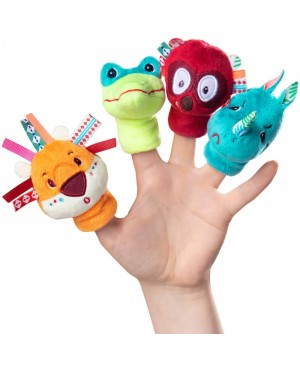 """Marionnettes à doigts """" jungle"""" Lilliputiens"""