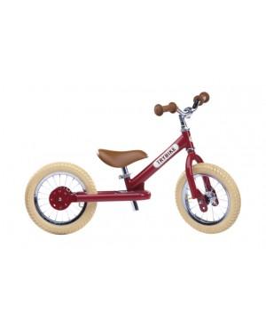 Trybike acier vintage draisienne rouge