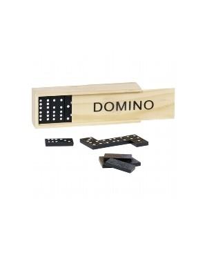 Jeu de dominos boîte en bois