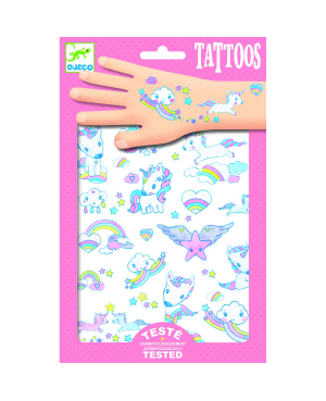 Tatouages Licornes Djeco