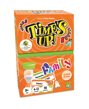 Time's Up! Family orange