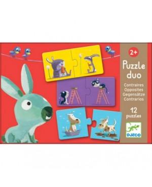 Puzzle duo contraires Djeco