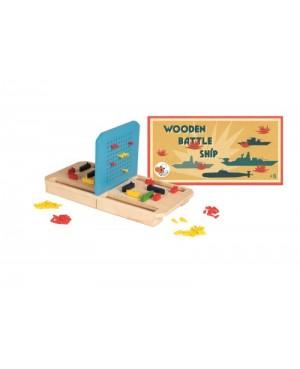 bataille navale en bois Egmont