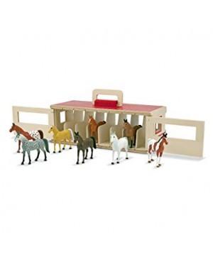 Box étable pour les chevaux...