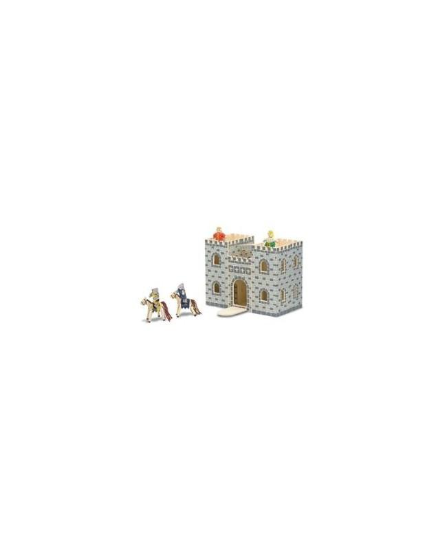 Château fort en bois pliant et portatif Melissa&Doug
