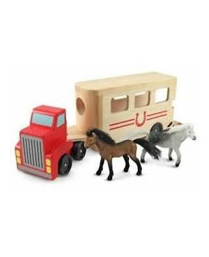 Remorque pour chevaux Melissa&Doug
