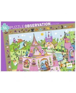 Puzzle observation Princesse - 54 pièces