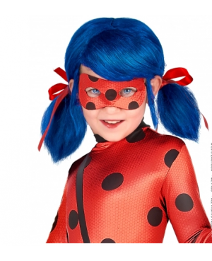Perruque fille Ladybug...