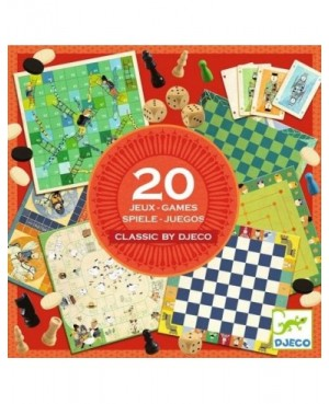 classic box 20 jeux Djeco