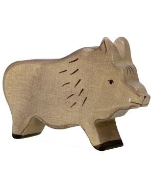 Figurine en bois Holztiger Sanglier