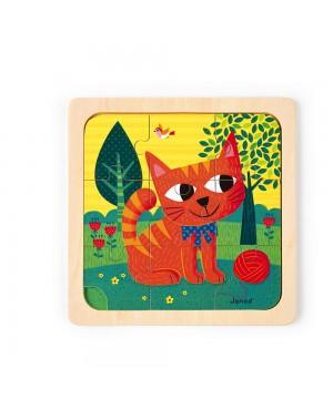 Puzzle chat Felix 9 pièces...
