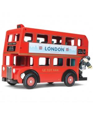 Bus de Londres et Conducteur en bois