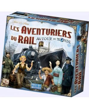 Les aventuriers du rail:Autour du monde