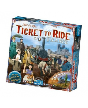 Les aventuriers du rail:France/Old West (extension)