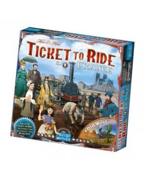 Les aventuriers du rail:France/Old West (extension)