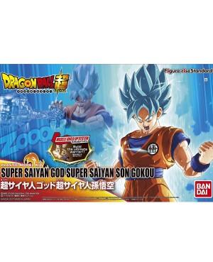 DBZ Maquette Figure-Rise Super Saiyan God Super Saiyan Son Goku 14cm