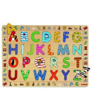 puzzle éducatif ABC