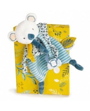 YOCA Mon petit Koala Doudou Attache-sucette Doudou et Compâgnie