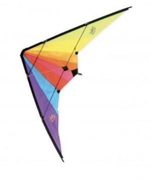 Cerf-volant delta avec double poignée