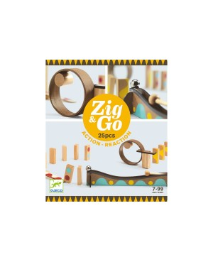 Zig & Go  25 pièces Djeco