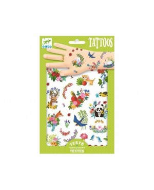 Tatouages Happy spring Djeco