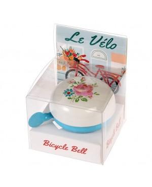 """Sonnette de vélo traditionnelle """"la petite rose"""" Rex London"""