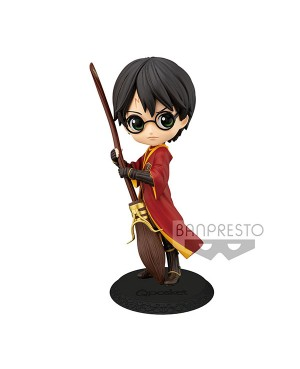 Harry Potter Q Posket Harry Potter Quidditch Ver A 14cm