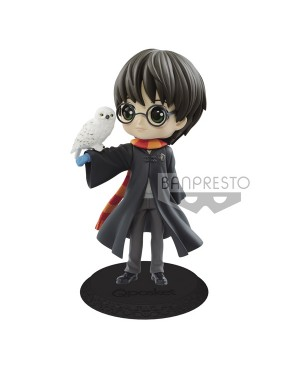 Harry Potter Q Posket Harry Potter & Hedwig 14cm Normal Color