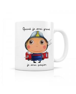 """Mug"""" Quand je serai grand..."""