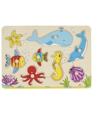 Le monde sous-marin, puzzle Goki