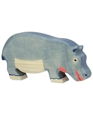 Hippopotame, mangeant Holztiger
