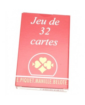 Jeux de 32 cartes belote