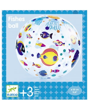 Fishes ball Ø35 cm Djeco