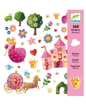 160 Stickers Princesse Marguerite Djeco