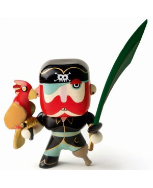 Sam Parrot figurine pirate Arty Toys