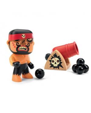 Rick & Boumcrak figurine pirate Arty toys Djeco
